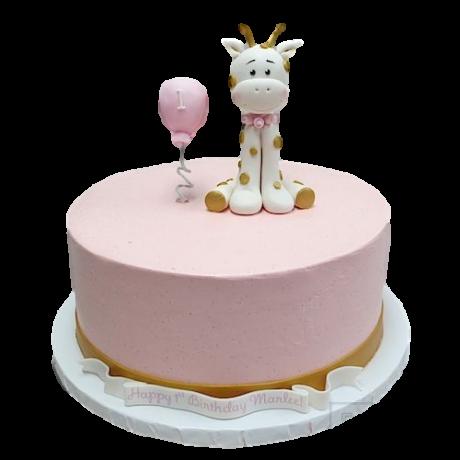 sofia giraffe cake 2 6