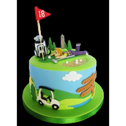 golf cake 3 8