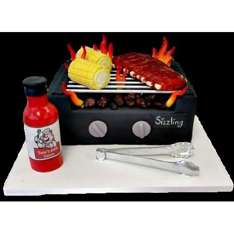 barbecue cake 1 6