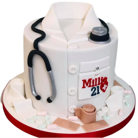 doctor's cake 4 6