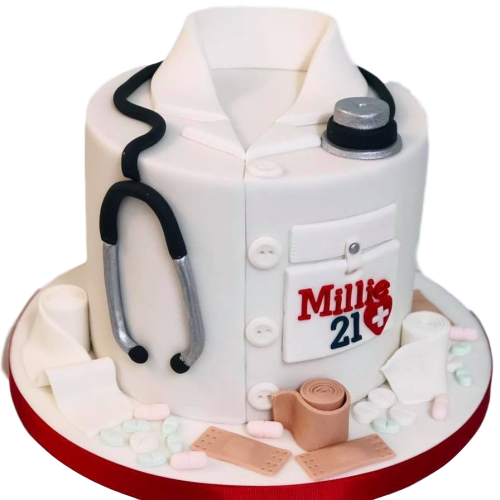 doctor's cake 4 7