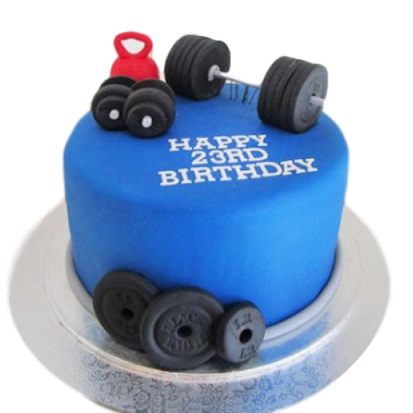 fitness mania cake 6
