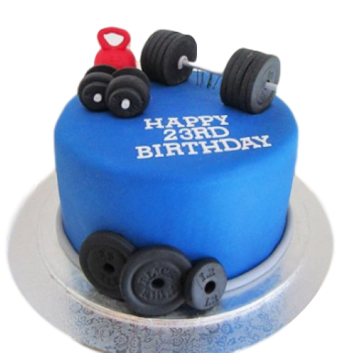 Fitness mania cake
