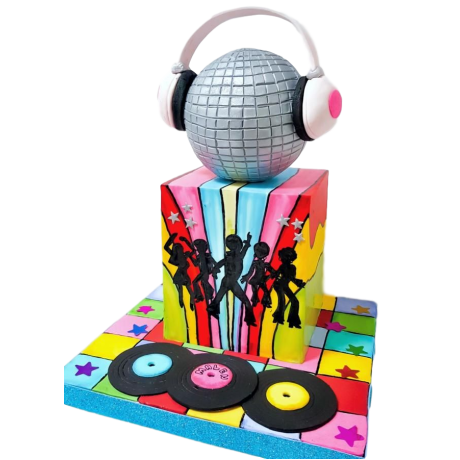 Disco cake 2