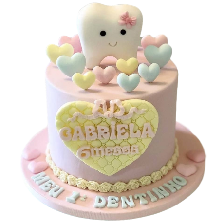 cute tooth cake 6