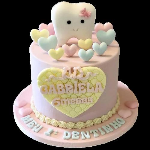 cute tooth cake 7