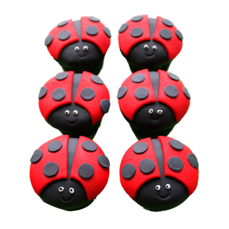 ladybug cupcakes 1 6