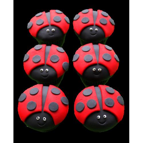 ladybug cupcakes 1 7