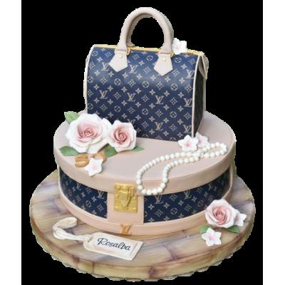 Louis Vuitton Bag Cake 7