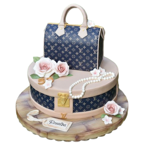 louis vuitton bag cake 7 6