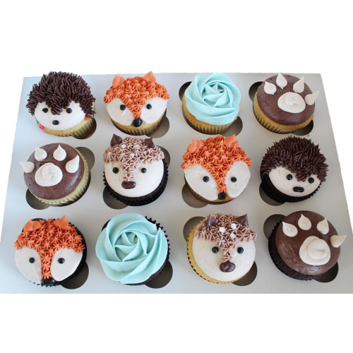 forest theme cupcakes 7