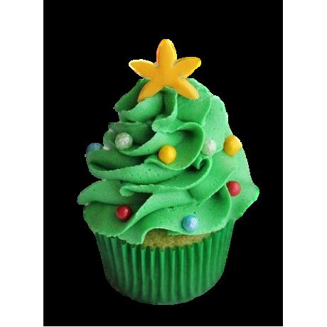 christmas tree cupcakes 6