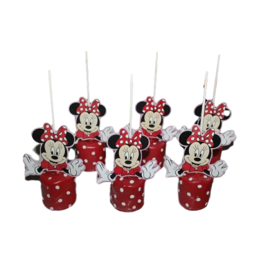 Minnie Mouse Cake pops 3
