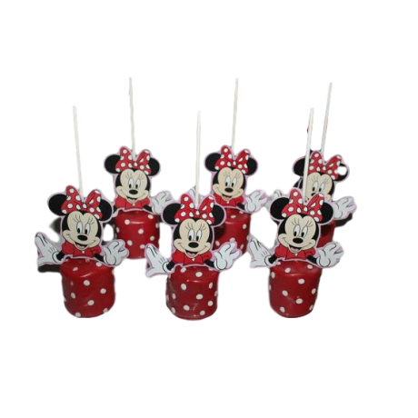 minnie mouse cake pops 3 6