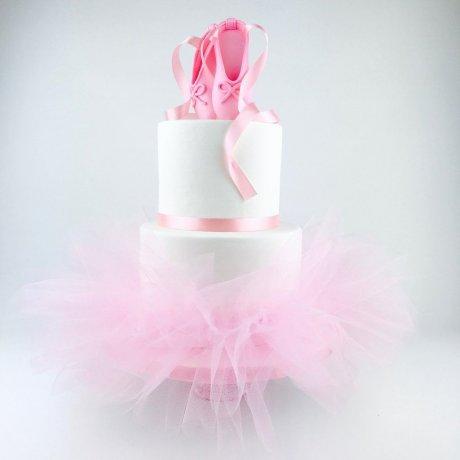 ballerina tutu cake 6