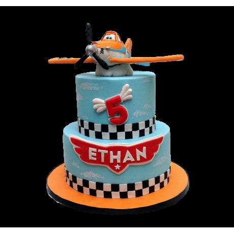 disney plane cake 6