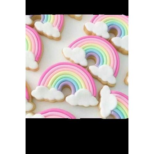 pastel rainbow cookies 13