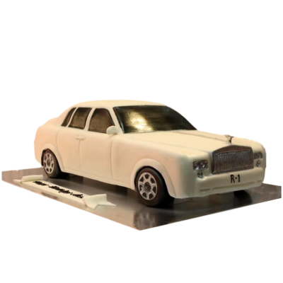 Rolls Royce cake 2