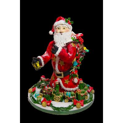 Cake Santa Claus