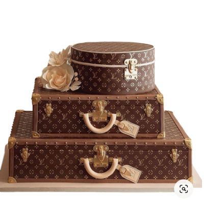 Luxury Louis Vuitton Cake