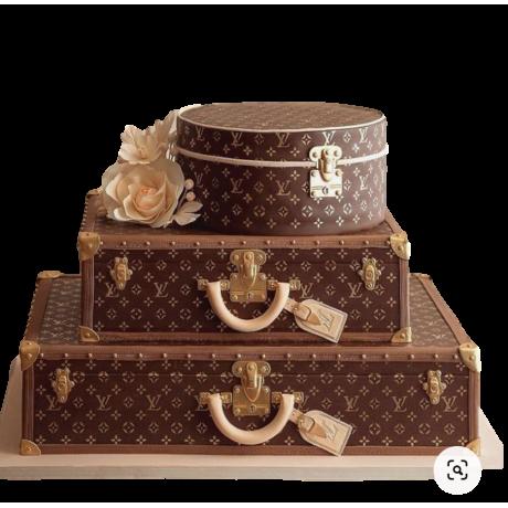 luxury louis vuitton cake 6