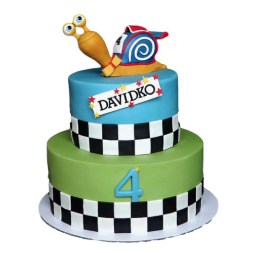 turbo snails cake 1 7