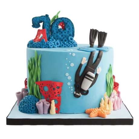 diving cake 2 6