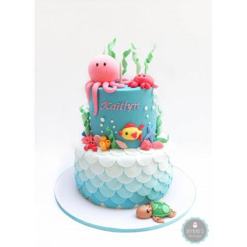 sea theme cake 11 7