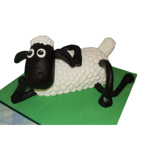 3 d shaun the sheep cake 6