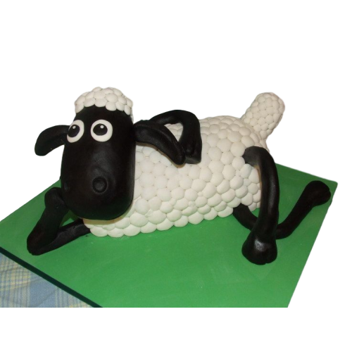 3 d shaun the sheep cake 7