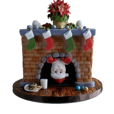 marry christmas and happy new year cake 6