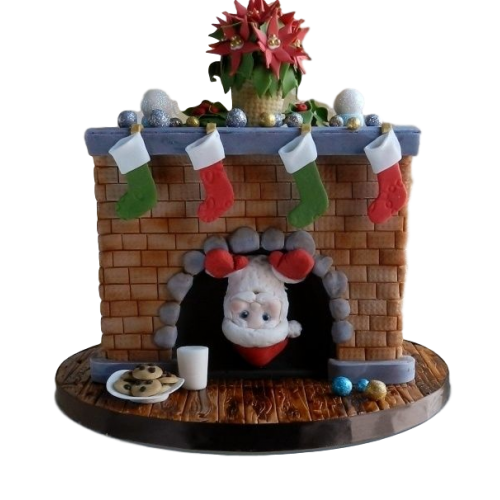 marry christmas and happy new year cake 7