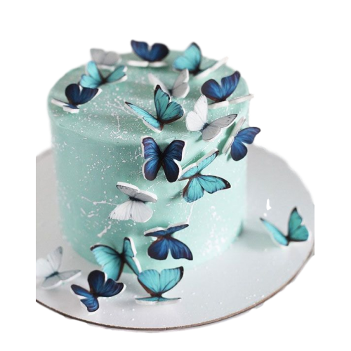 cake with butterflies 7