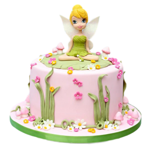 cake tinkerbell 10 7