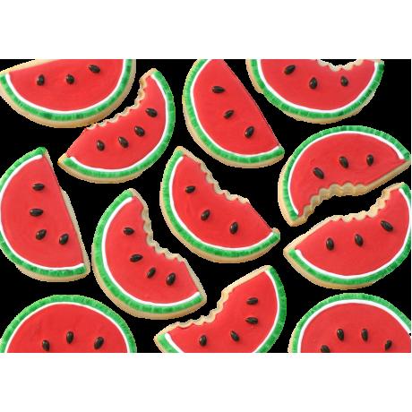 watermelon shaped cookies 12