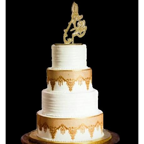 Arabic wedding cake 2