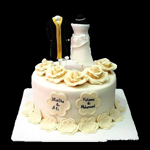 arabic wedding cake 5 7