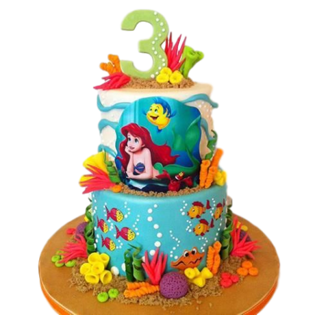 ariel cake 4 6