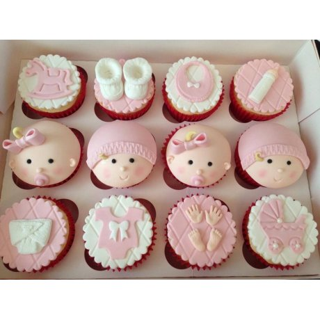 Baby Cupcakes - pink