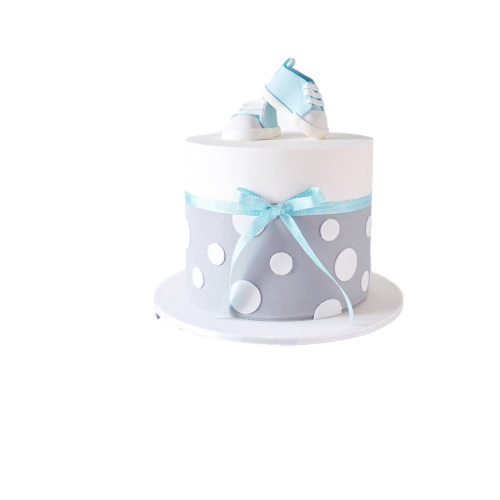 baby shoes cake 1 7