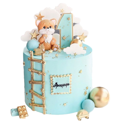 Baby Boy Cake 8