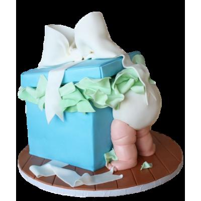 Baby butt cake 4