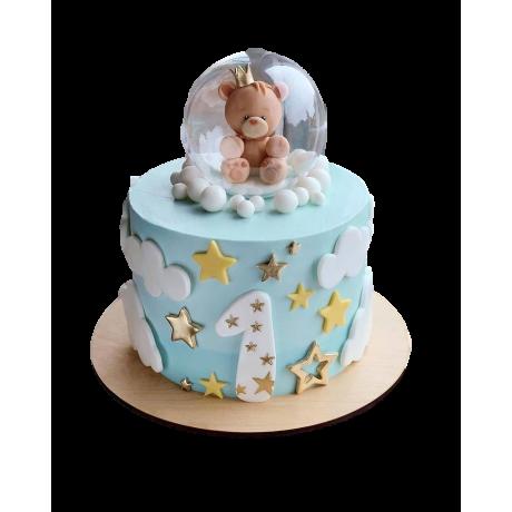 Baby boy cake 7