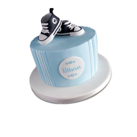 baby shoes cake 2 6