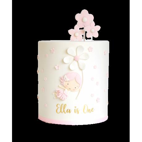 ballerina cake 4 6
