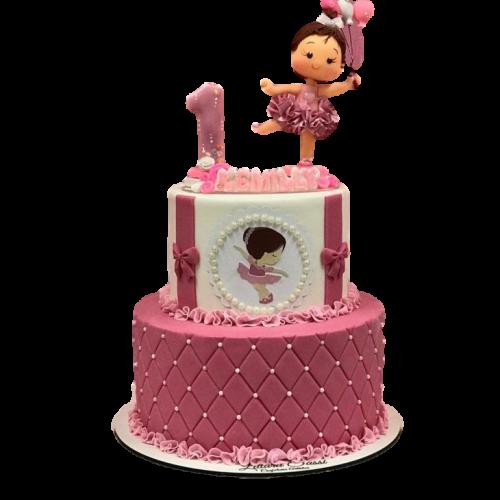 ballerina cake 8 7