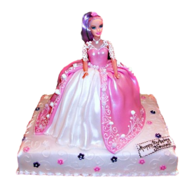 Barbie Cake 7