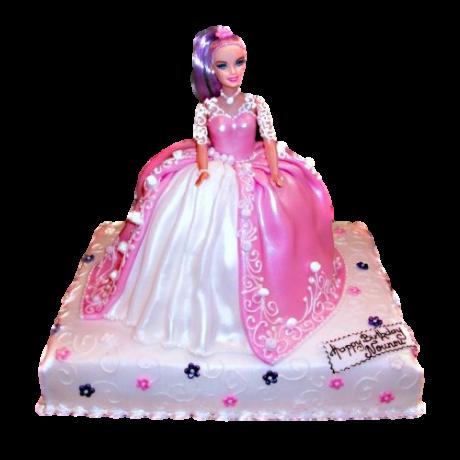 barbie cake 7 6