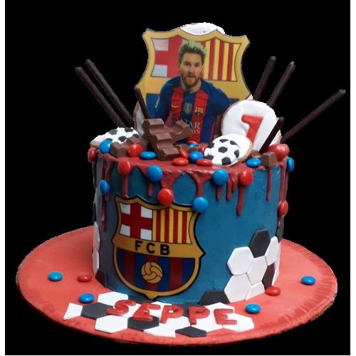 barcelona cake 4 7
