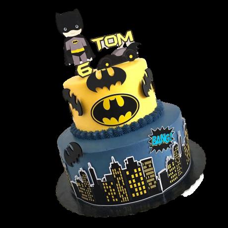 batman cake 4 6